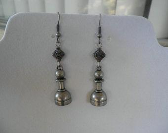 Chess Pawn Earrings