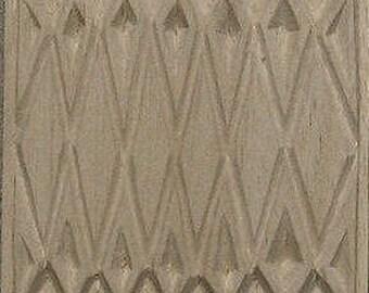 Carved Textile Stamp, African Design, Oshiwa Wood Printing Block, Item 10-17-2