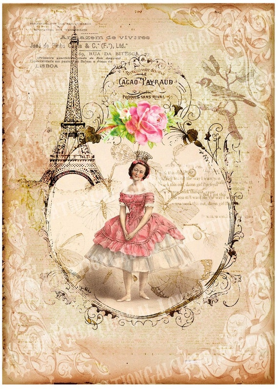 5x7 printable art digital images vintage victorian marie