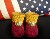 USMC Keepsake Booties, boy