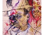 Murder HE Wrote --8.5X11 Print