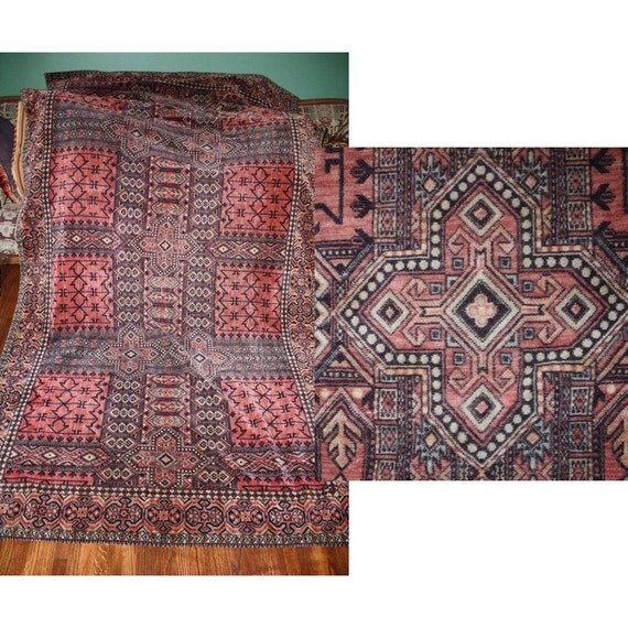 Antique arts and crafts mission style rug by for Arts and crafts style rug