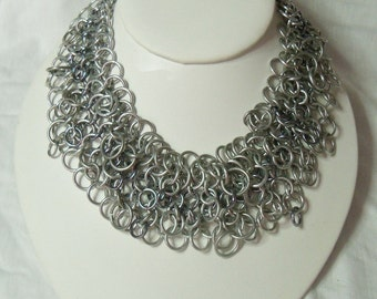 Choker Necklace - Shaggy Chainmaille