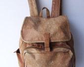 Vintage Rustic Drawstring Backpack