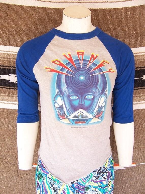 Vintage 80s Original Journey Concert Shirt Jersey