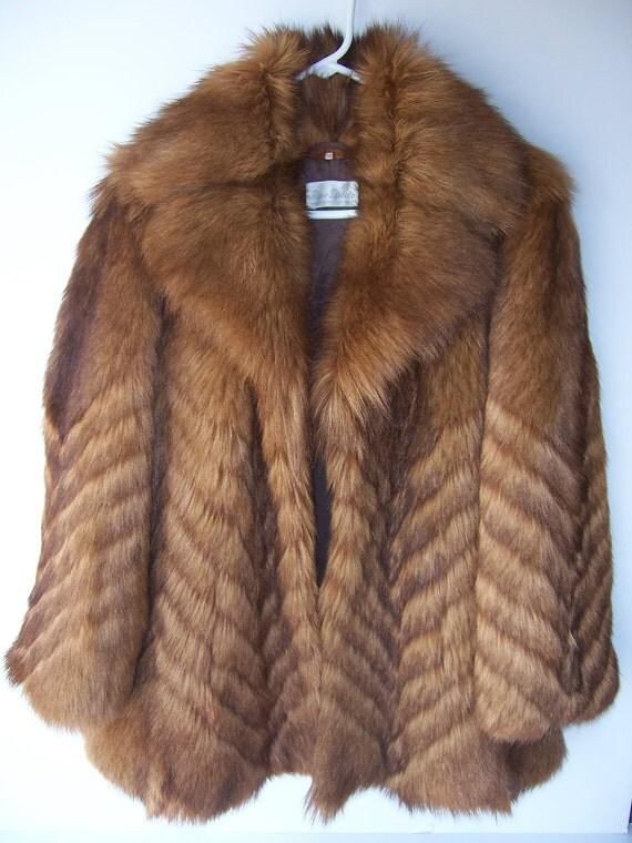 Rockstar Nanny Goat Fur Coat Jacket