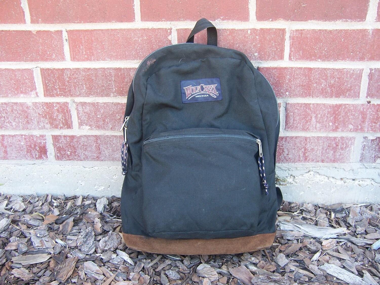 Vintage Wolf Creek Backpack