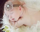 Baby Headband-Vintage Inspired-Newborn Headband-Infant Headbands-SEVERAL COLOR CHOICES