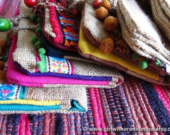 Passport Wallet Purse - Bohemian Colorful Multicolor - Free Spirit Travel Purse - Chose Your Favorite Style