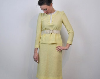 Canary Knit Suit