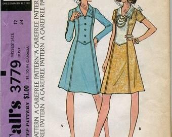 Vintage Dress Pattern - Size 12
