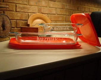 Personalized Pyrex Baking Dish Set