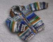 Multicolor Raglan Jacket.
