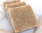 Earl Grey Cold Process Soap with Shea Butter and Avocado Oil