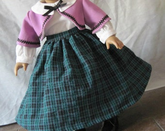 1850's Complete Outfit for 18 inch dolls