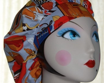 DRESS IT UP Banded Bouffant Surgical Cap by Nurseheadwear