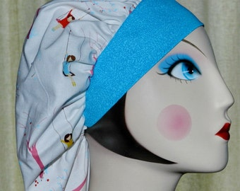 Girl on Swing Banded Bouffant Surgical Cap