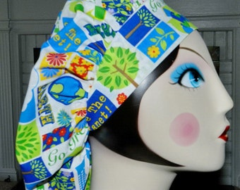 Save the Planet Banded Bouffant Surgical Cap