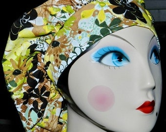 Wildflower Banded Bouffant Surgical Cap