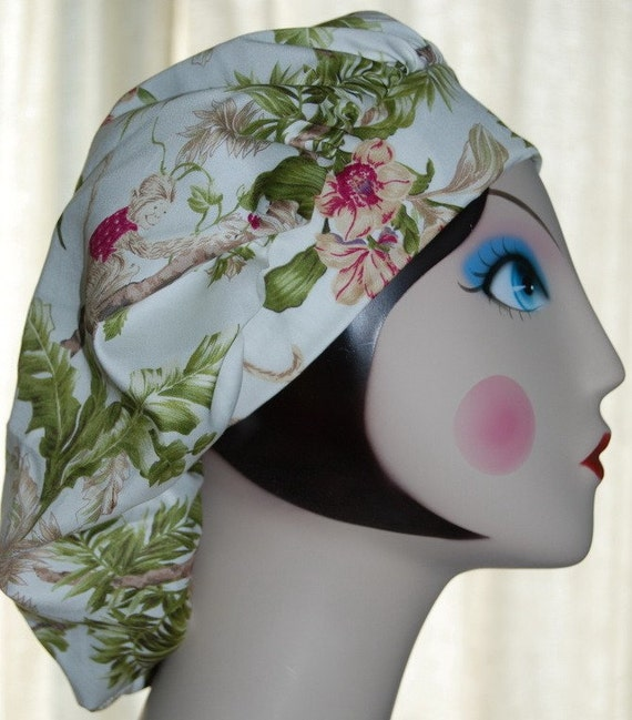 MONKEY BUSINESS Banded Bouffant Surgical Cap by Nurseheadwear