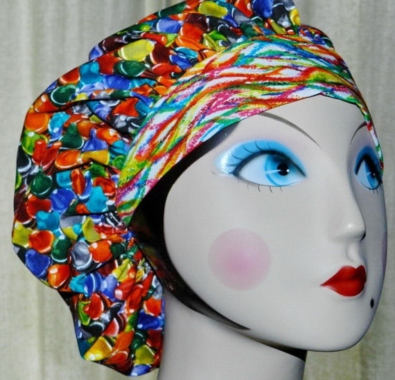 The BIG Crayon Box  Banded Bouffant Surgical Cap
