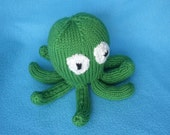 Oscar the Octopus - a hand-knitted toy octopus