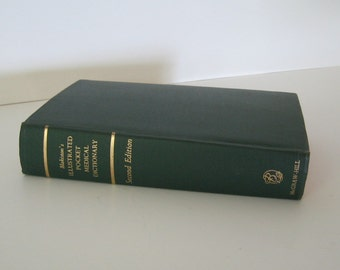 Vintage Book Medical Dictionary Illustrated Blakiston's Second Edition 1960 Collectible