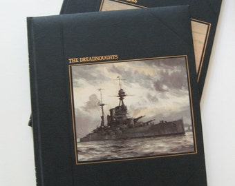 Vintage Books Seafarers Dreadnoughts Whalers Time Life Illustrated 1979 Collectible