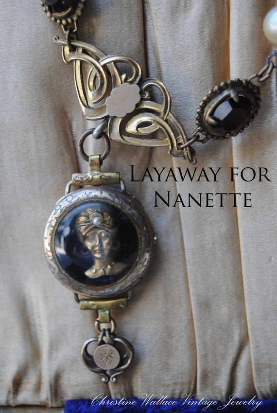 SOLD--LAYAWAY for Nanette--Ms. Zoltar--Please do not purchase unless you are NANETTE