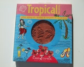 Free Shipping and Discounted...Tropical Rubber Stamp Kit