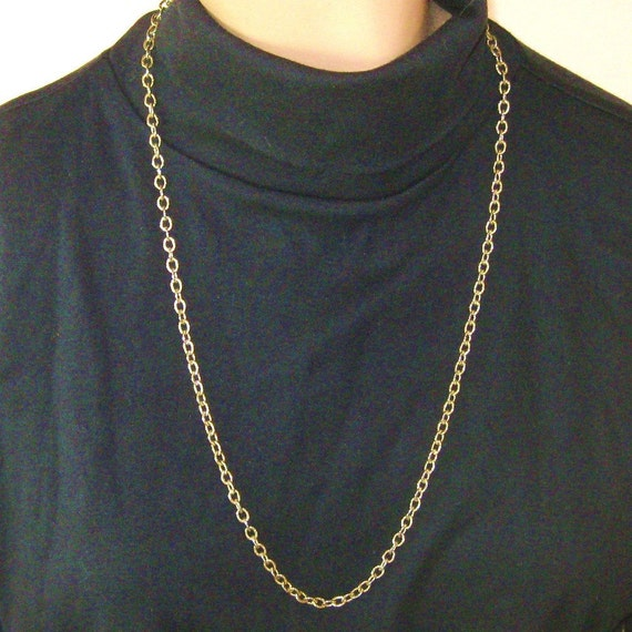 Vintage Whiting Davis Chain Necklace