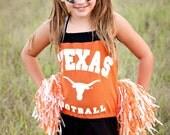 Texas Longhorns Kids Romper