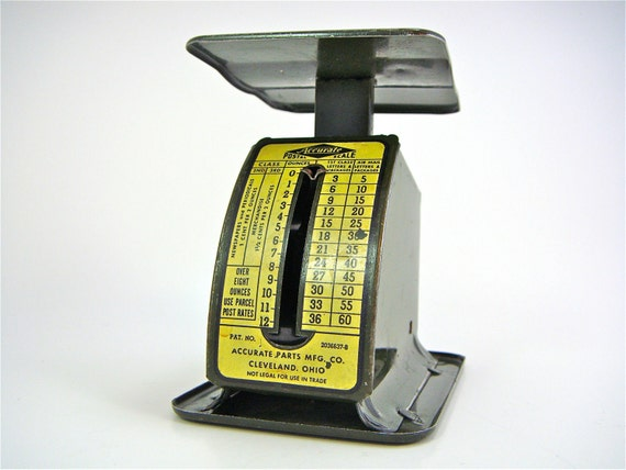 Do Not Buy Reserved for Ed Vintage Accurate Postal Scale Triner