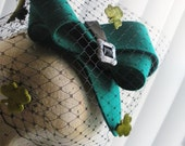 Esmerald Isle Cocktail Hat for St. Patricks and beyond