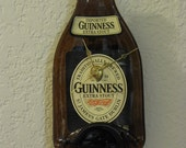 Guiness Extra Stout Beer Bottle Clock