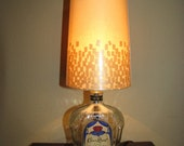Crown Royal Lamp  made from 1 liter Crown Bottle CYBER SALE 32