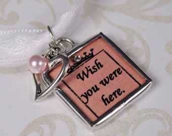 Custom Wedding Bouquet Photo Charm Bridal Accessories