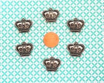 Crown Cabochons 12pc