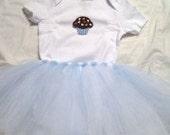 Quinn Cupcake Birthday Tutu Outfit