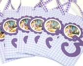 Candy bar sliders (10) wrappers Tangled, Disney Princesses or Cars Birthday Party Favors, candy bar wrappers