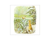 The Tale of Peter Rabbit 23 Storyboard Cross Stitch Pattern - Instant Download