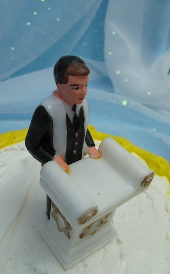 Jewish Cake Topper