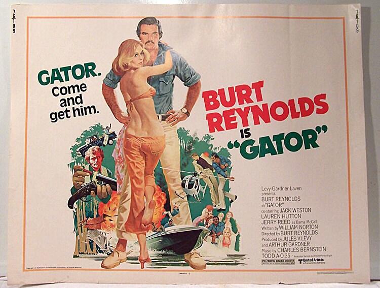 Burt Reynolds Gator Blind