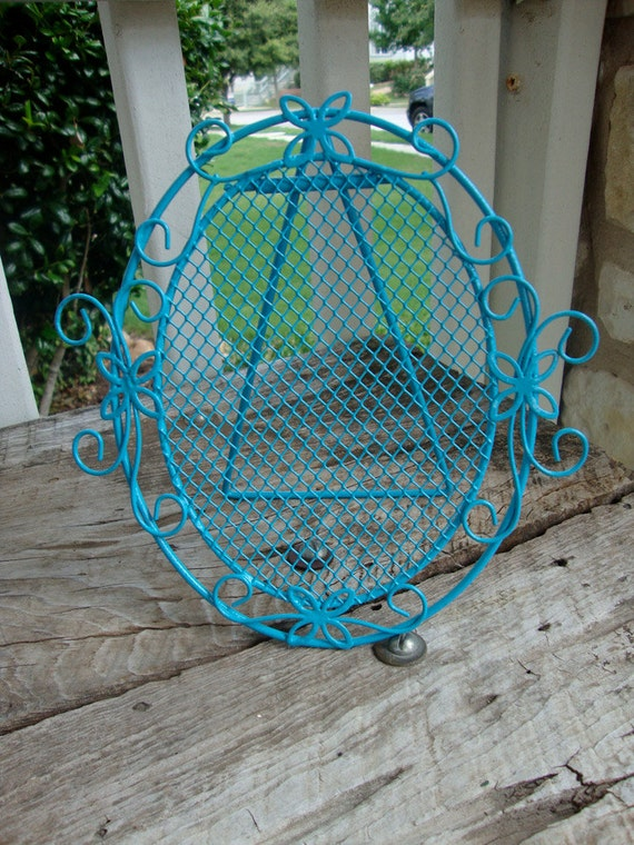 Turquoise Wire Earring Holder
