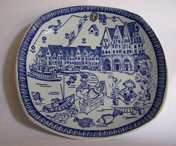 Vintage Stavangerflint Kari Nyquist Plate