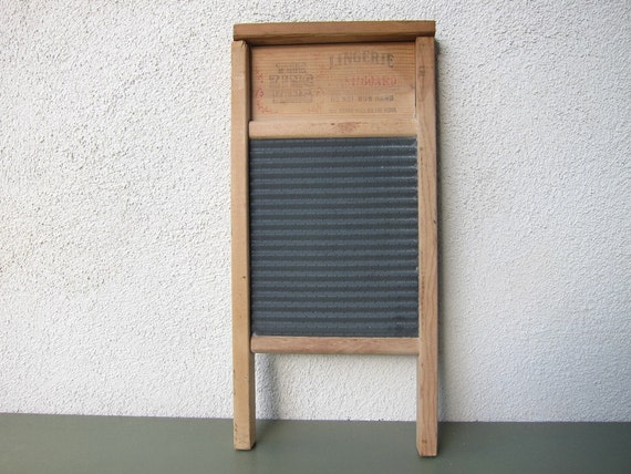 The Zinc King Washboard for Lingerie or Musical Instrument