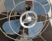 RESERVED FOR ALISA-Petite vintage table fan