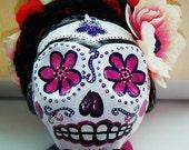 Frida Papier Mache' Dia de los Muertos