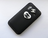 SALE   Chanel Inspired Black & White Samsung Galaxy Ace S5830 Phone Case