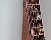 Industrial Designed Letterpress Wood Display